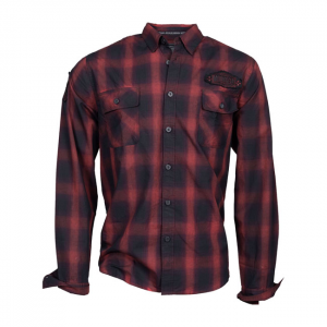 LETHAL THREAT BUILETHAL THREAT FOR SPEED PISTON PLAID SHIRT; Male; US SIZE L