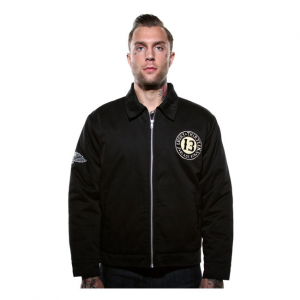 Lucky 13 Black sin jacket black; Male EU size XL