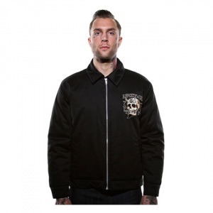 Lucky 13 Booze, bikes & broads jacket black; Male EU size M