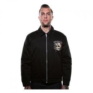 Lucky 13 Booze, bikes & broads jacket black; Male EU size XL
