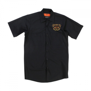 Lucky 13 Amped workshirt black; male EU size 2XL