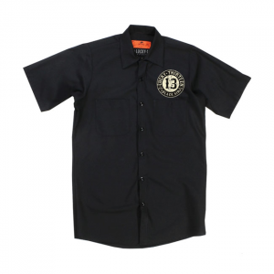 Lucky 13 Blacksin workshirt black; male EU size 2XL