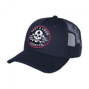 Lucky 13 Fast & Loud adj trucker cap black