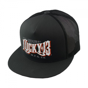 Lucky 13 Old towne snapback poplin mesh two tone