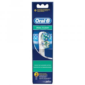 ORAL-B Dual Clean Testina di Ricambio
