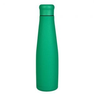 Bottiglia in Acciaio Colore Green Glitter
