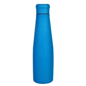 Bottiglia in Acciaio Colore Blue Glitter