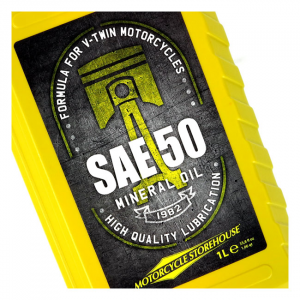 MCS SAE 50 (MINERAL) MOTOR OIL 36-84 B.T. (EXCL. EVO)