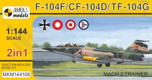 F-104F/CF-104D/TF-104G