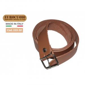 Cintura in cuoio marrone cm.30x1100x1350