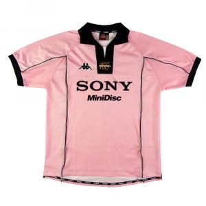 1997-98 Juventus Maglia Away Rosa Centenario  L (Top)