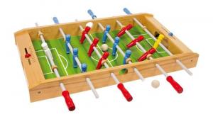 Calcio balilla da tavolo in legno