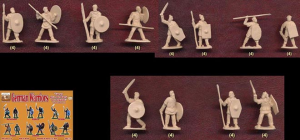GERMANIC WARRIORS SET 1