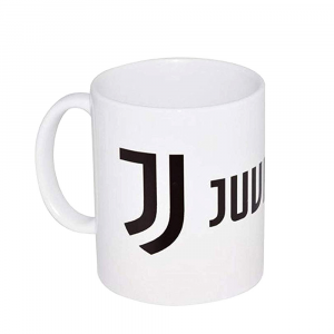 Tazza cilindrica bianca della JUVENTUS in ceramica