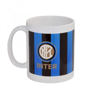 Tazza cilindrica dell' INTER in ceramica