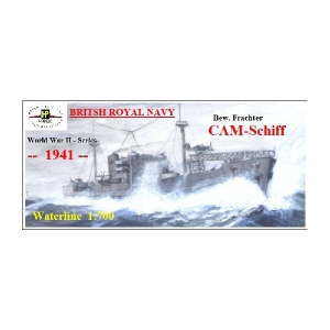 CAM-SHIP (ARMED FREIGHTER WITH CATAPULT) -1941-