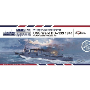 WICKES CLASS DESTROYER USS WARD