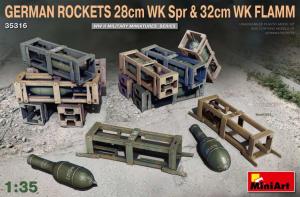 GERMAN ROCKETS 28cm WK Spr & 32cm WK FLAMM