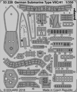 German Submarine Type VIIC/41