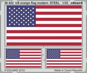 US ENSIGN FLAG MODERN STEEL