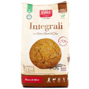 Biscotti Integrali con Riso e Semi di Chia