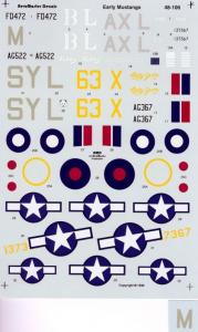 P-51 EARLY MUSTANGS