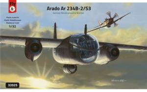 Arado Ar-234B-2/S3 German Recconnaissance Bomber