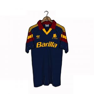 1991-92 As Roma maglia Terza XL (Top)