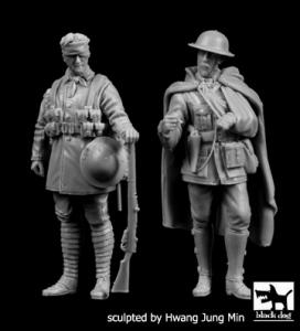 British soldiers WWI