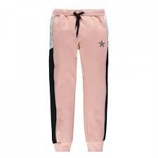 Pantalone in felpa con inserti ragazza Mek