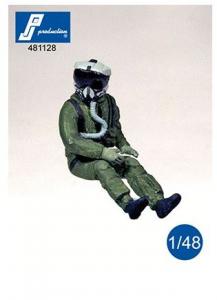 US pilot with JHMCS helmet