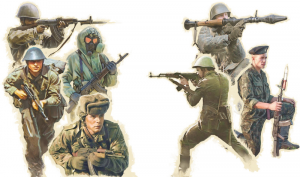 WARSAW PACT TROOPS
