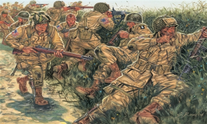 WWII US PARATROOPERS
