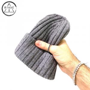 #NEXT - Berretto in lana Merino, Viscosa e Cashmere - Colore grigio
