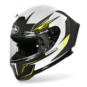 CASCO INTEGRALE MOTO AIROH GP550 S VENOM WHITE MATT 2020 GP55V38