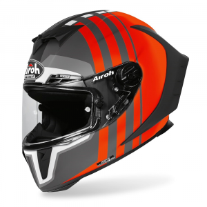 CASCO INTEGRALE MOTO AIROH GP550 S SKYLINE ORANGE MATT 2020 GP55S32