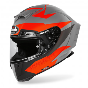 CASCO INTEGRALE MOTO AIROH GP550 S VEKTOR ORANGE MATT 2020 GP55VEK16