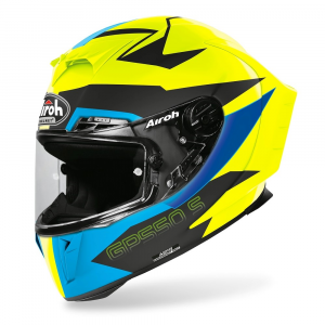 CASCO INTEGRALE MOTO AIROH GP550 S VEKTOR BLUE MATT 2020 GP55VEK18