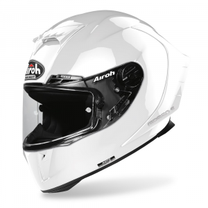 CASCO INTEGRALE MOTO AIROH GP550 COLOR WHITE GLOSS 2020 GP5514
