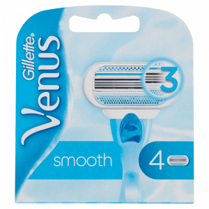 GILLETTE VENUS lame Smooth Ricarica x 4 per depilazione
