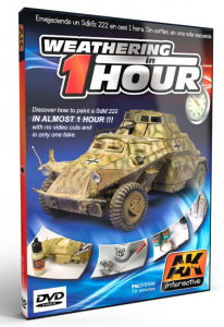 Weathering A Sdkfz 222 In One Hour