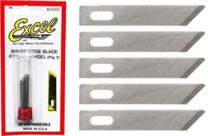 Angled Chisel Blade - 5 pcs.