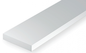 OPAQUE WHITE POLYSTYRENE STRIP