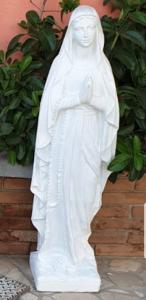 Statua da giardino in cemento semi-lavorata fatta artigianalmente altezza103cm