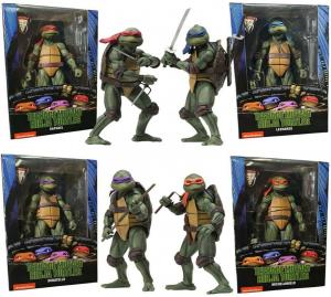 Teenage Mutant Ninja Turtles Action Figure from Movie 1990 by Neca
