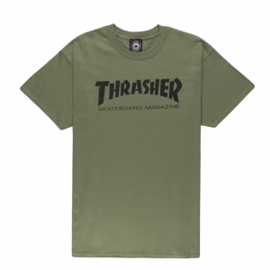 T-Shirt Thrasher Green Tee