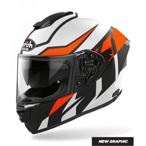CASCO INTEGRALE MOTO AIROH St.501 FROST ORANGE MATT 2020 ST.5F32