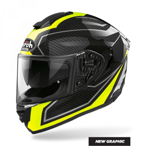 CASCO INTEGRALE MOTO AIROH St.501 PRIME YELLOW GLOSS 2020 ST.5P31