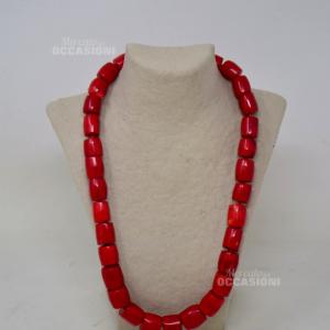 Collana Di Corallo Rosso