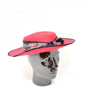 Cappello Rosso In Lana Made In